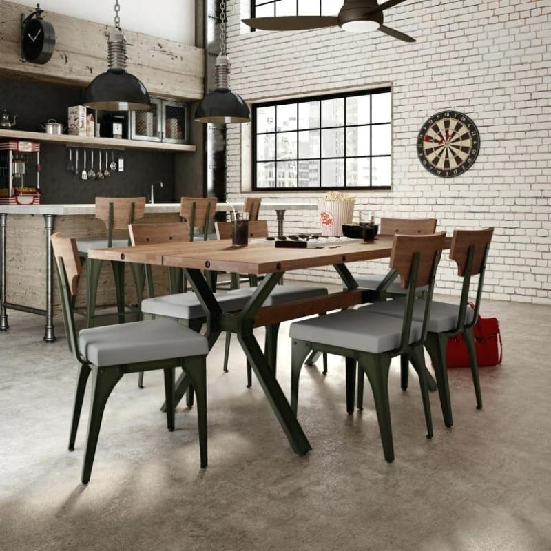 industrial style dining furniture