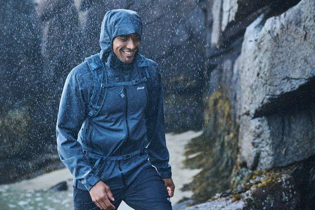 man-exploring-on-rain